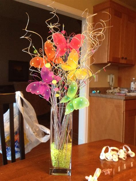 centerpieces with butterflies butterfly centerpiece bridal shower theme ideas