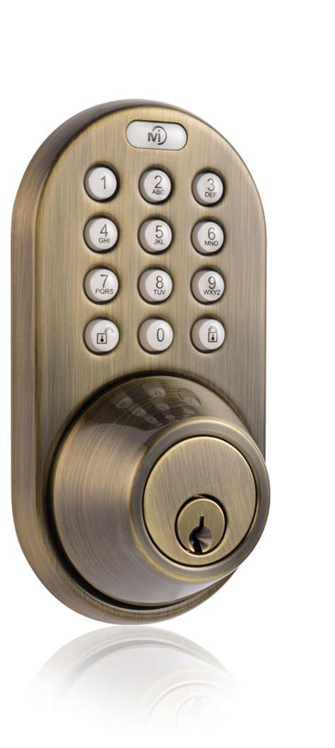 Keyless Door Entry by Milocks Xf 02 Keyless Entry Deadbolt Door Lock With Rf