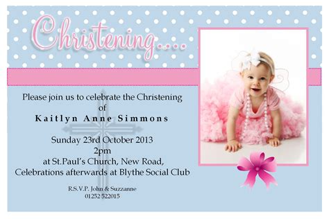 invitation templates for photoshop free baptism invitation template free christening