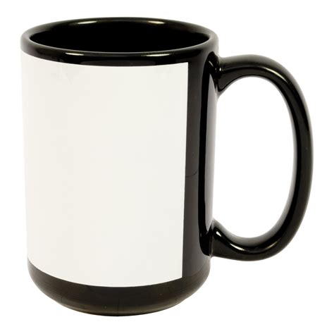 15 oz orca black ceramic coffee mugs for your every morning