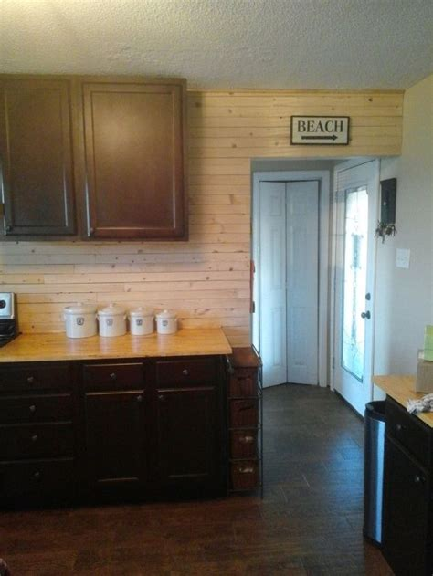 Shiplap Kitchen Backsplash A Beachside Kitchen Backsplash Hometalk