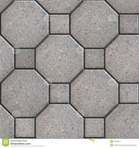 Paving Slabs. Seamless Tileable Texture. Royalty Free Stock Photography   Image: 34636977