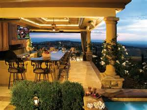 Outdoor Kitchen Design by 22 Outdoor Kitchen Bar Designs Decorating Ideas Design