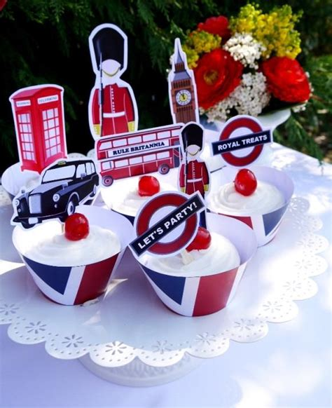 themed birthday party uk british uk london birthday party printables supplies