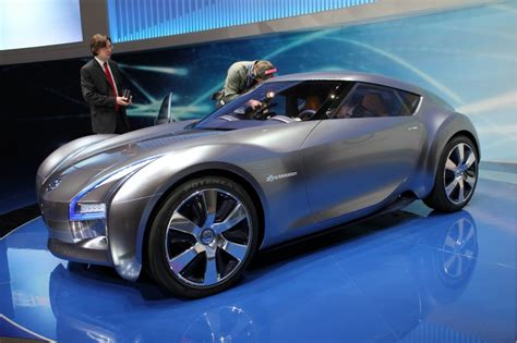 cool electric cars concepts to electric cars cool vw bulli nissan esflow