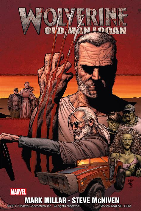 wolverine old man logan comics my mom should read