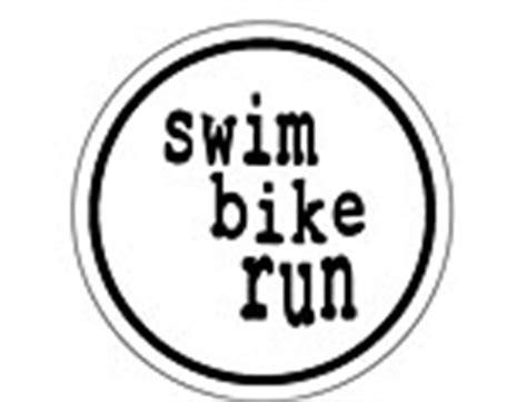 swim bike run our 0241965845 swimandtri swim bike run sticker