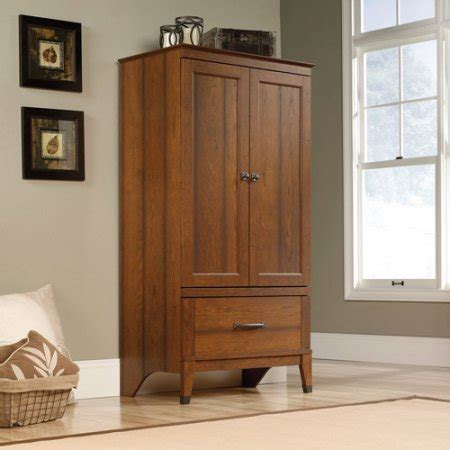 wood armoire dresser storage drawers bedroom closet