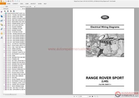 2015 range rover sport wiring diagram free
