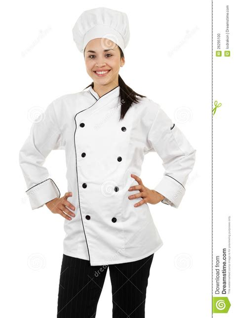 Kitchen Design Plan by Female Chef Stock Photo Image 26295100