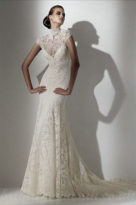 Lace Dress Wedding by Vintage Inspired Lace Wedding Dresses Pjbb Gown