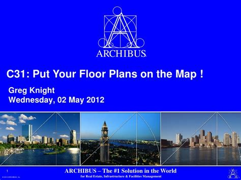 put your archibus floor plans on the map