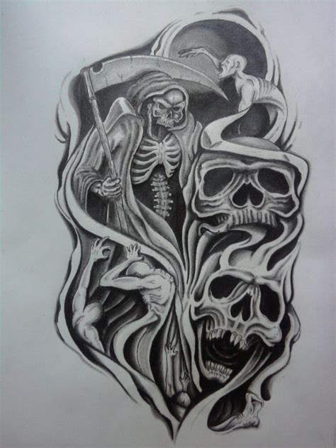 tattoo design deviantart skull half sleeve tattoo designs half sleeve tattoo
