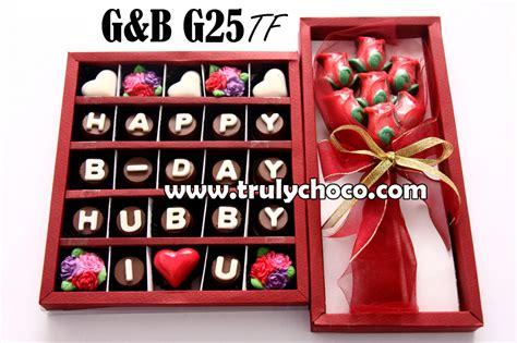 Coklat Hadiah By Chocolate kado ulang tahun untuk suami trulychoco handmade chocolate