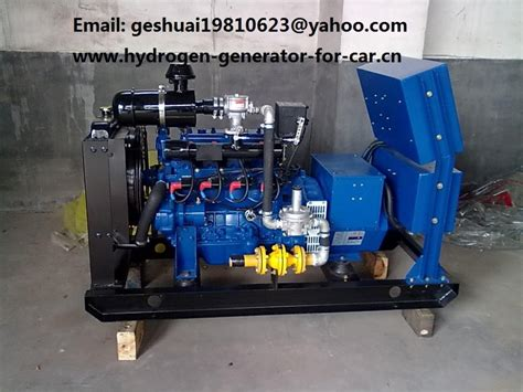 100 hydrogen fuel powered electricity generator set in