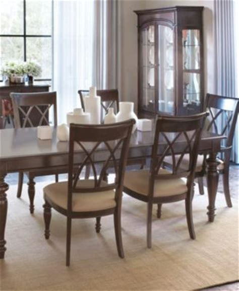 bradford dining room furniture collection bradford 7 piece dining room furniture set furniture