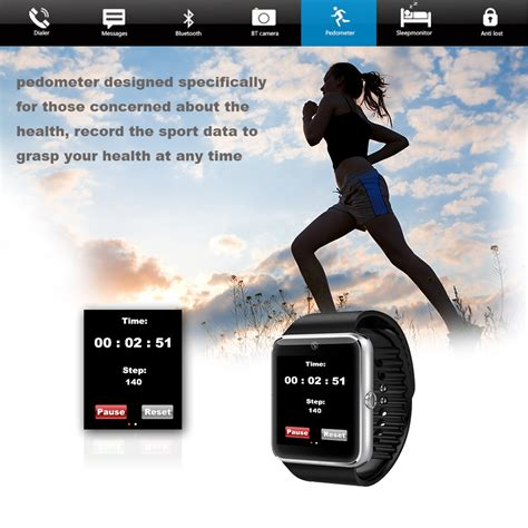 Smart Gt 08 Wearables Intl jts gt08 smart bluetooth compatible for android and