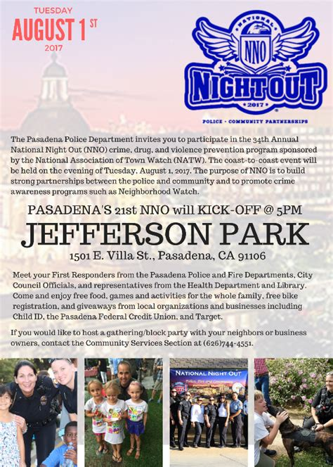 national out is tuesday august 1 2017 get pasadena