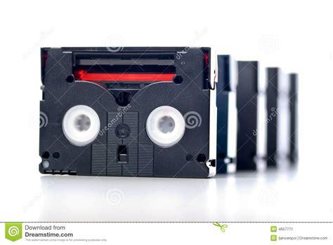 cassette minidv mini dv stock image image 4657771