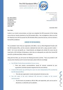 Certification Letter For Attendance Letter Of Cpd Confirmation 21024