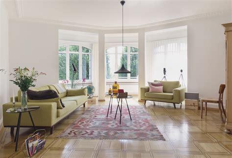 moderne wohnzimmer vorhänge 1086 wanduhr modern