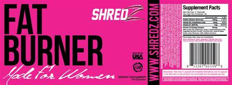 Shredz Detox Dosage by Image Gallery Shredz Ingredients