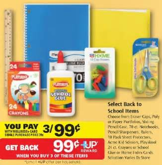 Rite Aid Gift Card Selection - get 3 select back to school items free at rite aid addictedtosaving com