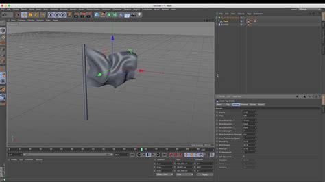 cinema  tutorial   create  animated flag youtube