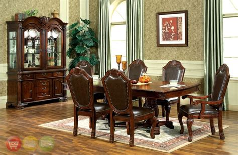 traditional formal dining room sets chateau traditional formal dining room furniture set