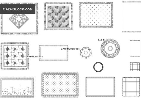 tappeto dwg photos rug cad block drawings gallery