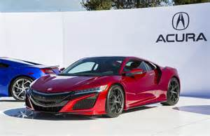 acura nsx starting production next arriving as