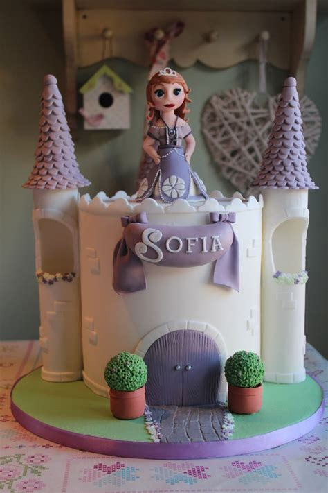 Princess Sofia Castle Cake 114 best images about sofia the on birthday cakes sofia the cake and
