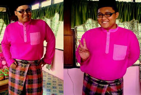 Baju Setelan With Pant With Neckler Pink White Style Impor hr joonhae salikin sidek songket sin hr linen baju melayu pink aidilfitri 2011 lookbook