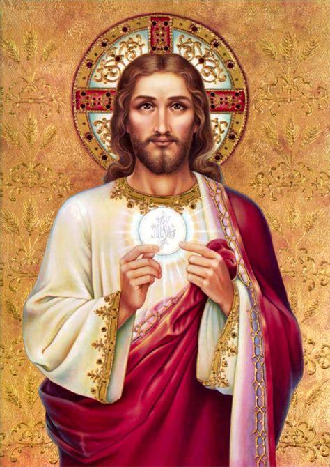 imagenes de jesus dando la comunion miles christi del modo de hacer la comuni 211 n espiritual