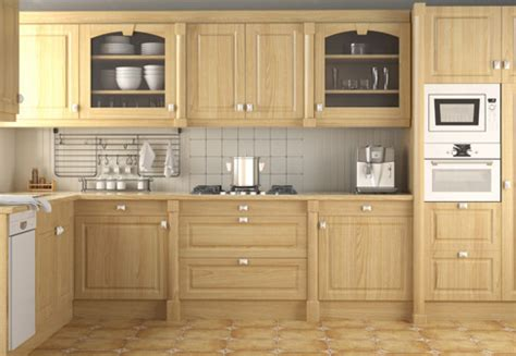 Kensington Range, Wood Effect Kitchen Cabinet Doors and