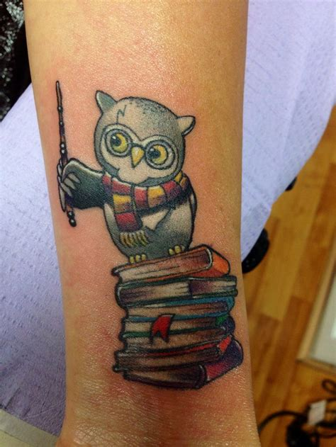 hedwig tattoo 20 tatuajes inspirados en harry potter arte my
