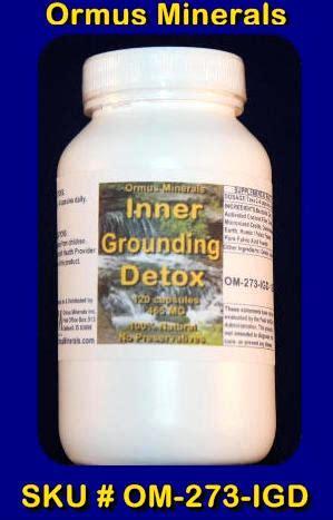 Palladium Detox by Whatisormus Ormus Minerals Inner Grounding Detox