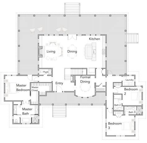 open concept contemporary farmhouse floor plans colin