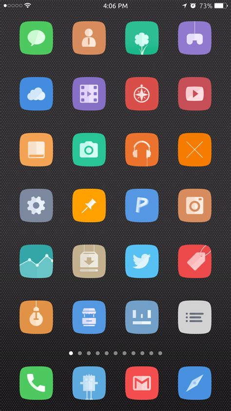 Themes Themes Top Ios 8 Winterboard Themes For Your Iphone