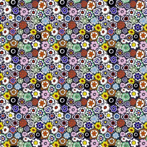 mille fiori millefiori fabric vannina spoonflower