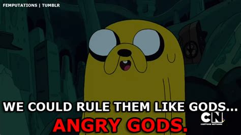 Jake The Dog Meme - adventure time gods gif find share on giphy