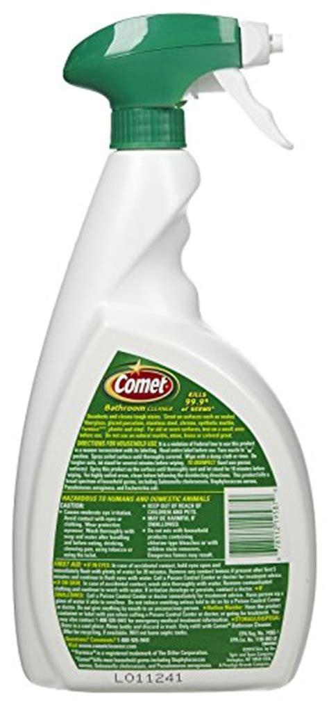 comet bathroom cleaner spray comet bathroom cleaner spray 32 oz 2 pk home garden household supplies household