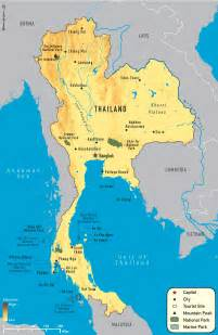 Thailand Map World by Maps