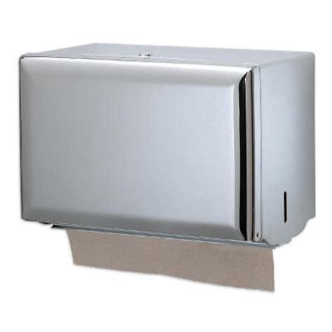 Single Fold Paper Towel Dispenser - san jamar t1800xc steel single fold paper towel dispenser