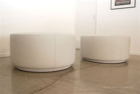 custom round ottoman classic design custom round leather ottomans