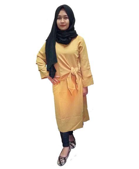 baju renang muslim tunik big size jual baju tunik terbaru bahan wolfis 2fwoolpeach busana