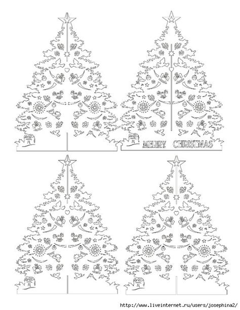 card tree template 56 best images about kirigami on architecture