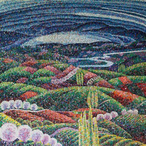 mosaic pattern landscape 1000 images about mosaic flowers garden landscape on