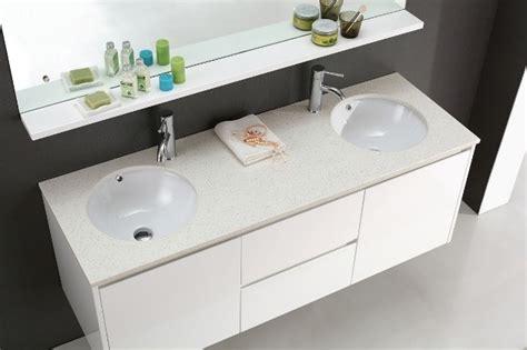 luxur 1500 wall hung white vanity