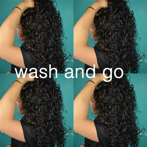Type V Curly Hair by Wash And Go Curly Hair Routine Type 2c Hair